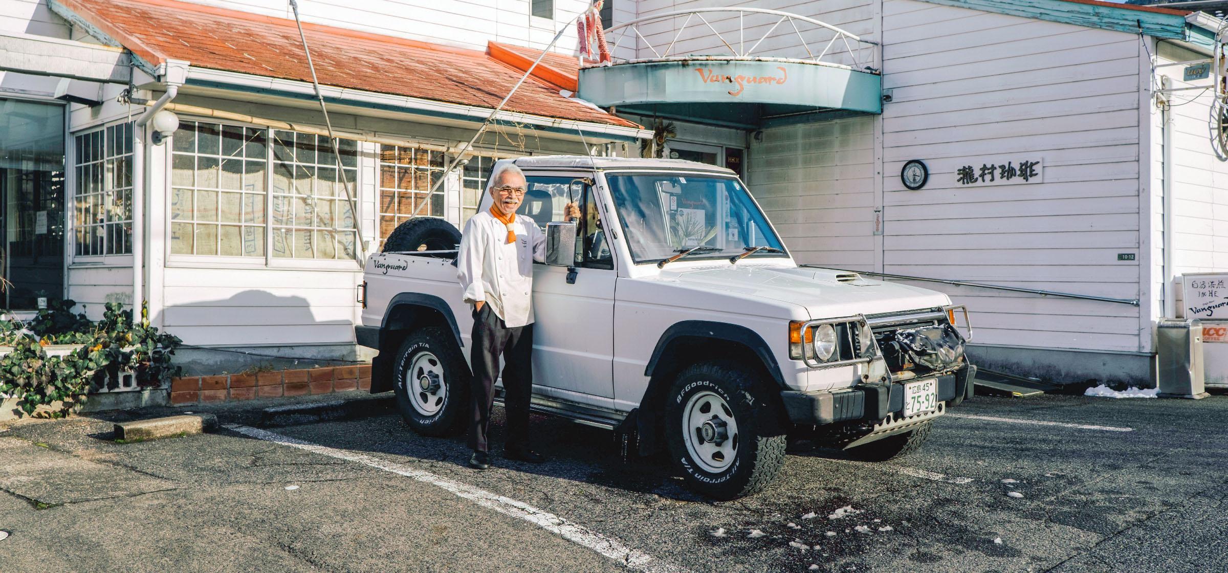 車とオーナー写真